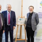 Terry Croft, Lord Sainsbury and Professor Sir Keith Burnett