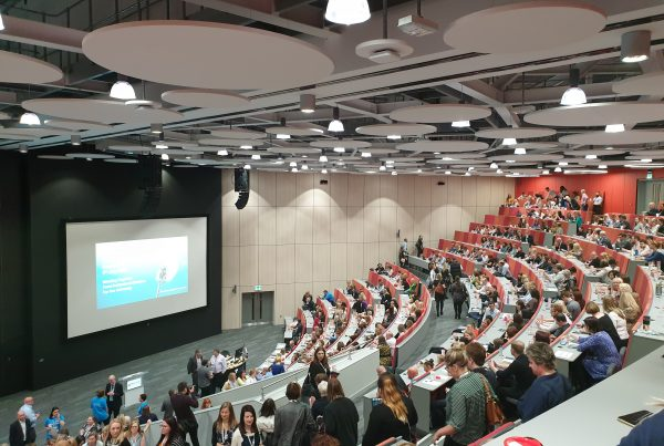 New lecture theatre at the Helix, Newcastle