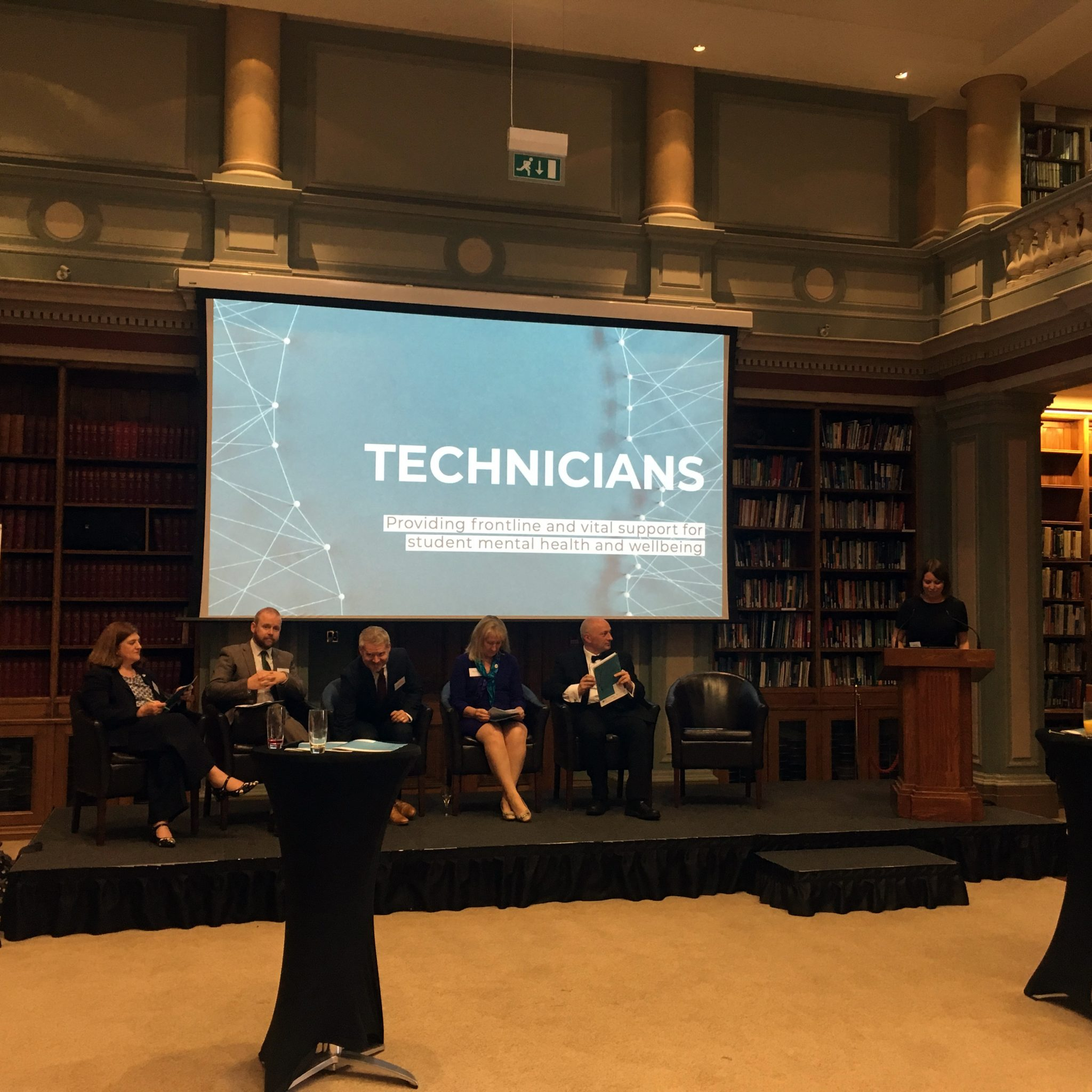 Panel at the report launch